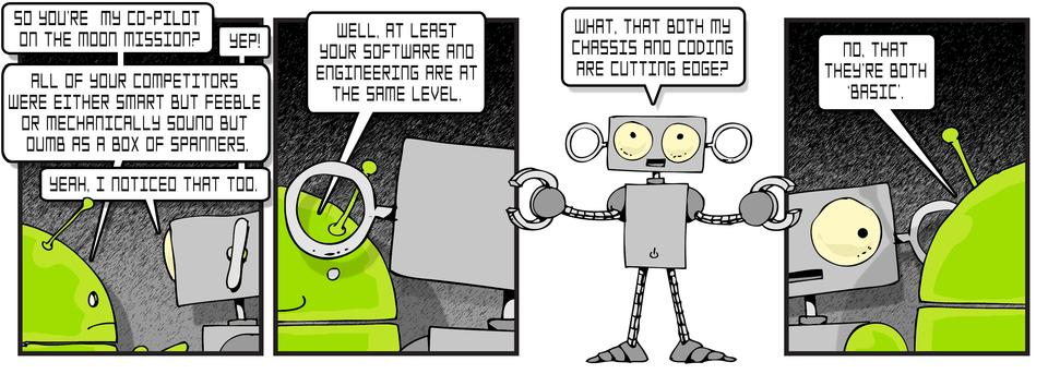 Robot Sledging